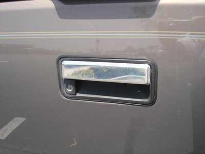 Stainless Steel Chrome Tailgate Handle Covers