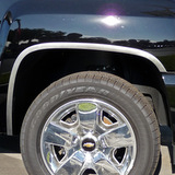 3rd Generation Truck/SUV Fender Trim Brushed Finish